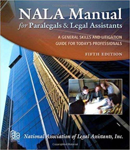 Pay for NALA Manual for Paralegals and Legal Assistants (5th Edition