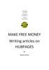 Thumbnail Make Money Writing Articles
