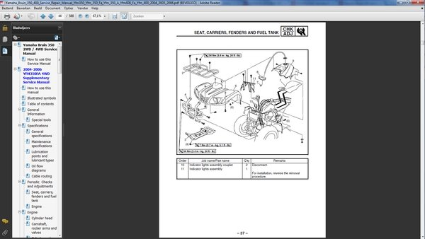 Yamaha bruin kodiak 2wd 4wd service and repair manual for Yamaha credit application