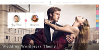 Thumbnail Gittys - Responsive Wedding Wordpress Theme