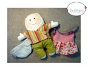 Thumbnail Baby-friendly Doll Sewing Pattern - PDF