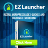 Thumbnail WP EZ Launcher Plugin for Wordpress