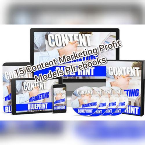 Pay for  Content marketing profit models plr ebooks