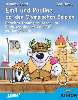 Pay for Emil und Pauline bei den Olympischen Spielen - Legasthenie und Rechtschreibförderung (ab 7 Jahren)