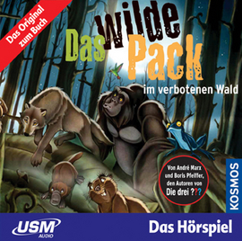 Pay for Hörspiel/MP3: Das Wilde Pack im verbotenen Wald