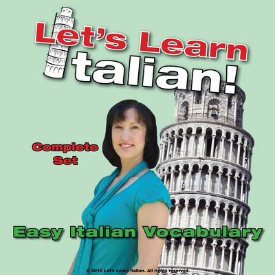 Pay for Easy Italian Vocabulary Set, Volumes 1, 2 & 3