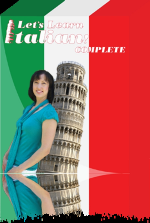 Pay for Lets Learn Italian! Complete, Deluxe