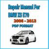 Thumbnail BMW Series X5 E70 2006 - 2013 WORKSHOP Manual Service Repair