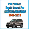 Thumbnail SUZUKI GRAND VITARA  2005-2015 SERVICE REPAIR MANUAL
