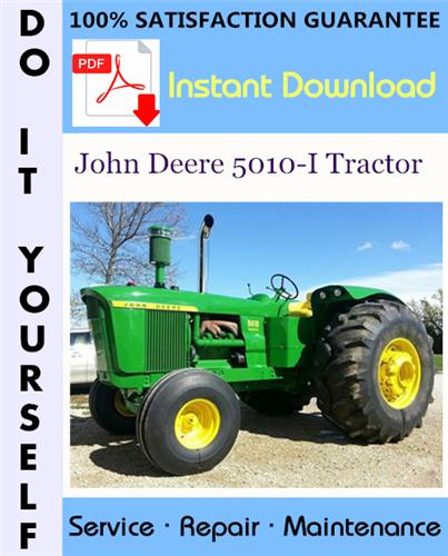 Thumbnail John Deere 5010-I Tractor Service Repair Workshop Manual ☆