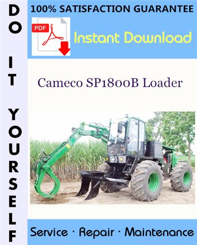 Thumbnail Cameco SP1800B Loader Service Repair Workshop Manual ☆