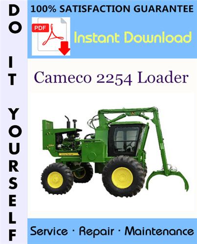 Thumbnail Cameco 2254 Loader Service Repair Workshop Manual ☆