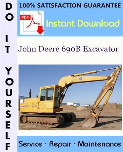 Thumbnail John Deere 690B Excavator Technical Manual ☆