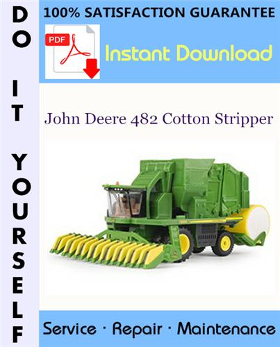 Thumbnail John Deere 482 Cotton Stripper Technical Manual ☆