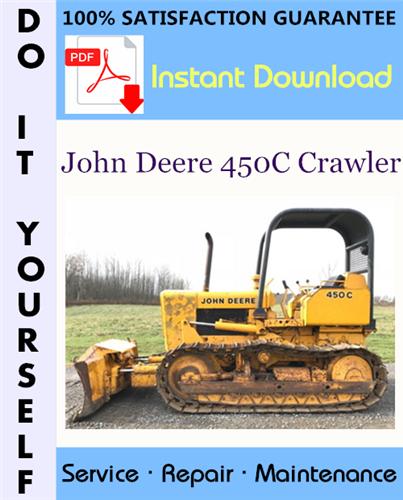 Thumbnail John Deere 450C Crawler Technical Manual ☆