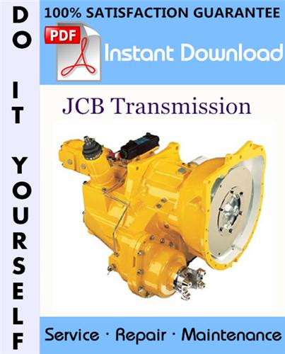 Thumbnail JCB Transmission Service Repair Workshop Manual ☆