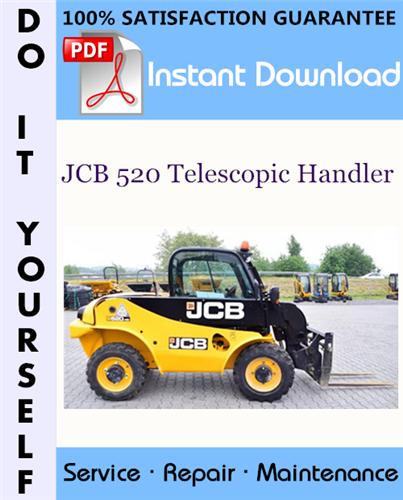 Thumbnail JCB 520 Telescopic Handler Service Repair Workshop Manual ☆