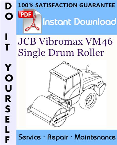 Thumbnail JCB Vibromax VM46 Single Drum Roller Service Repair Workshop Manual ☆