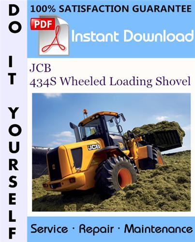 Thumbnail JCB 434S Wheeled Loading Shovel Service Repair Workshop Manual ☆