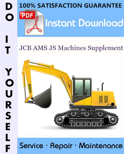 Thumbnail JCB AMS JS Machines Supplement Serivce Manual ☆