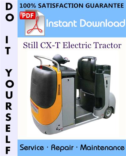 Thumbnail Still CX-T Electric Tractor Service Repair Workshop Manual ☆