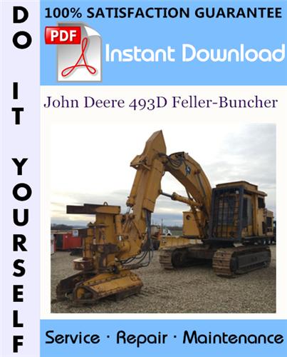 Thumbnail John Deere 493D Feller-Buncher Technical Manual ☆