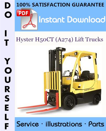 Thumbnail Hyster H50CT (A274) Lift Trucks Parts Manual ☆