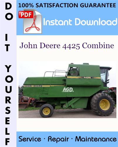 John Deere 4425 Combine Technical Manual  U2606