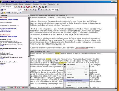 how to translate a pdf file from german to english