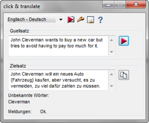 Pay for click & translate 4  German/English