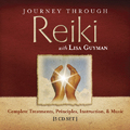 Thumbnail Journey Through Reiki with Lisa Guyman:  Complete Treatments, Principles, Instruction & Music.  5 CD Set