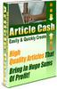 Thumbnail Article Cash Guide - With 100 Bonus Articles