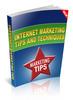 Thumbnail Internet Marketing Tips eBook