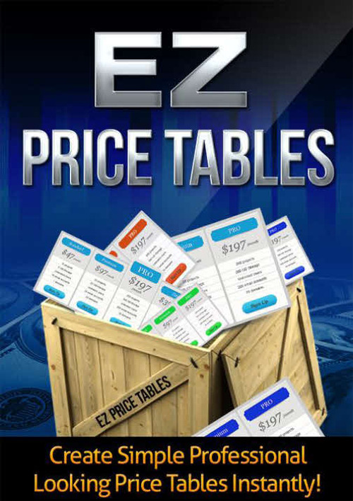 Pay for EZ Price Tables Plugin