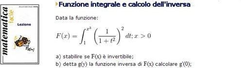 Pay for Funzione integrale, risoluzione Esempio 7