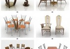 Thumbnail 3D Tables and Chairs Models for 3d max