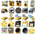 Thumbnail LOGO! Yellow Desktop ICONS - Vol.14