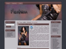 Thumbnail New! Fashion Website Template Vol 1
