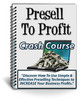 Thumbnail Presell To Profit Comes With PLR