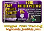 Thumbnail Your Article Profits!  Videos Training
