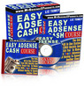 Thumbnail **NEW**Easy Adsense Cash Course With Master Resale Rights