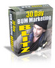 Thumbnail *NEW* 30 Day Bum Marketing Blitz ! Master Resale Rights included.