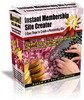 Thumbnail *NEW* Instant Membership Site Creator Latest version 3.2  With Master Resale Rights