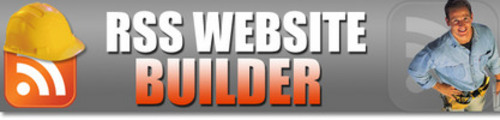Thumbnail *NEW* RSS Website Builder With Master Resale Rights