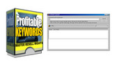 Thumbnail *NEW* Profitable Keywords Software With Master Resale Rights