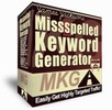 Thumbnail *NEW* Misspelled Keyword Generator  Resale Rights included.