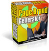 Thumbnail  NEW Page Brand Generator With  Resale Rights