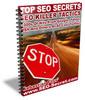 Thumbnail Top SEO Secrets - SEO Killer Tactics