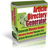 Thumbnail *NEW*Article Directory Generator  With Private Labels Rights