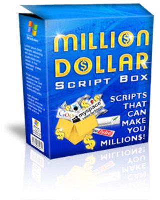 Pay for HOT! Million Dollar Script Box  With Master Resale Rights